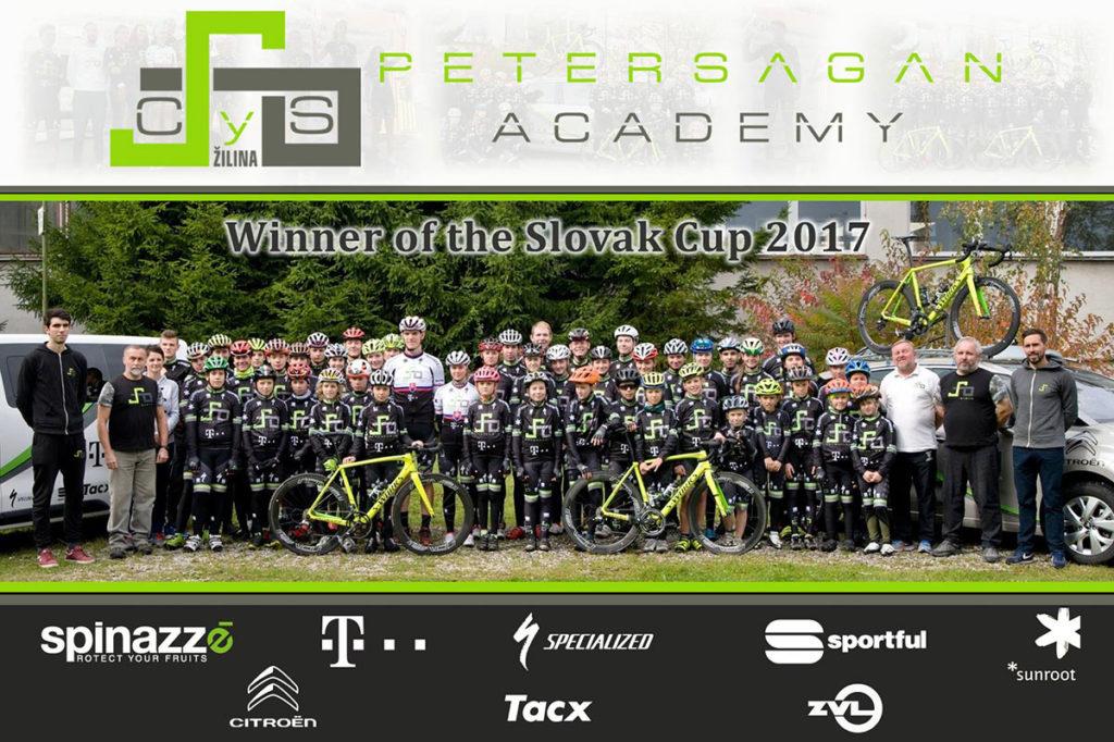 Aj tento rok sme podporili CYS – Peter Sagan Academy