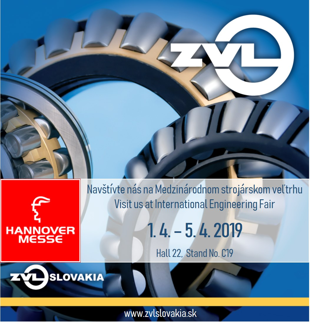 Pozvánka na Hannover Messe 2019