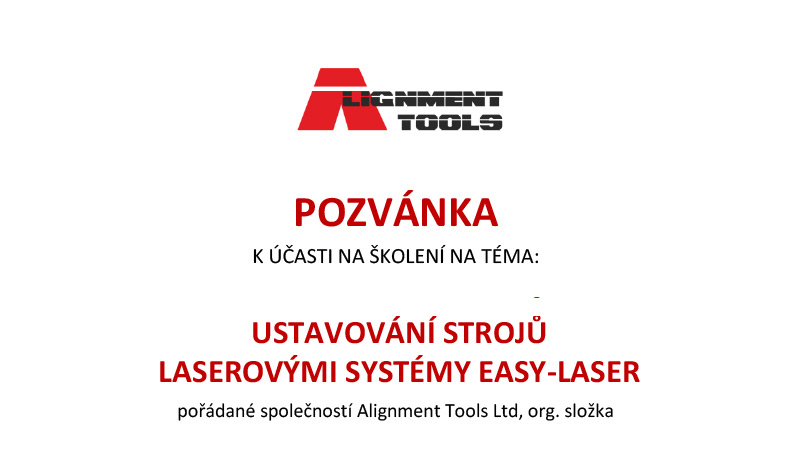 Alignment tools pozvánka